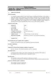 AME2508 - MS Ramaiah School of Advanced Studies