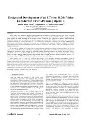 Design and Development of an Efficient H.264 Video Encoder for ...
