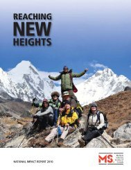 HEIGHTS - Multiple Sclerosis Society of Canada