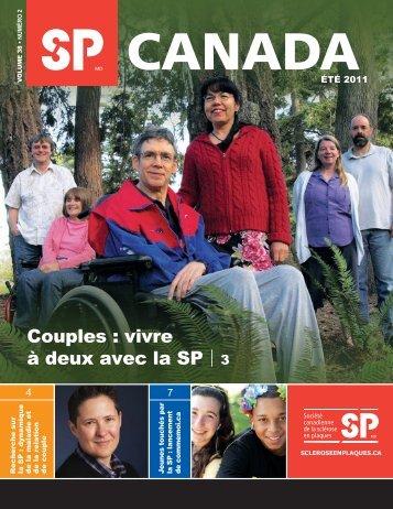 Couples - Société canadienne de la sclérose en plaques