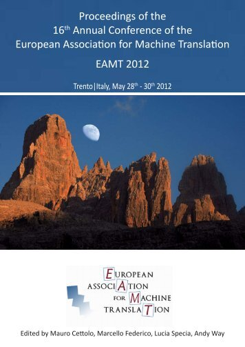 Proceedings of the 16th Annual Conference of the European ...