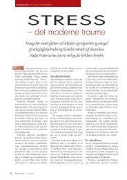 Stress – det moderne traume - Elbo