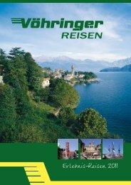 Erlebnis-Reisen 2011