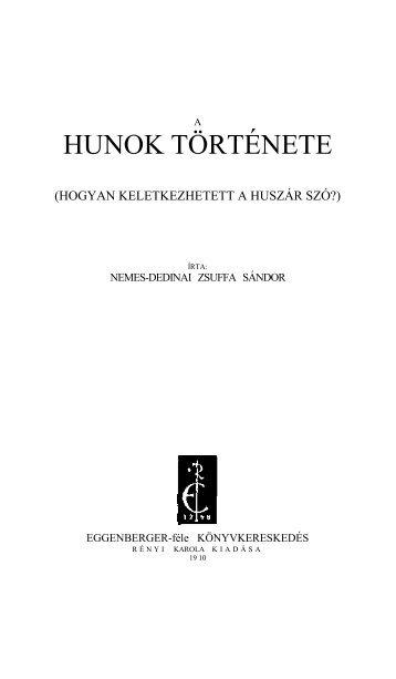 A húnok története