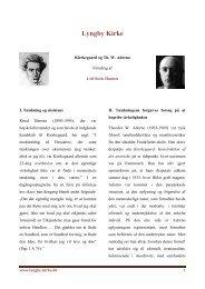 Kierkegaard og Th. W. Adorno - Lyngby Kirke