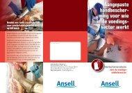 ming voor wie in de voedings - Ansell Healthcare Europe