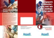 ming voor wie in de voedings - Ansell Healthcare Europe