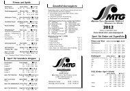 Sport in der MTG 20120906