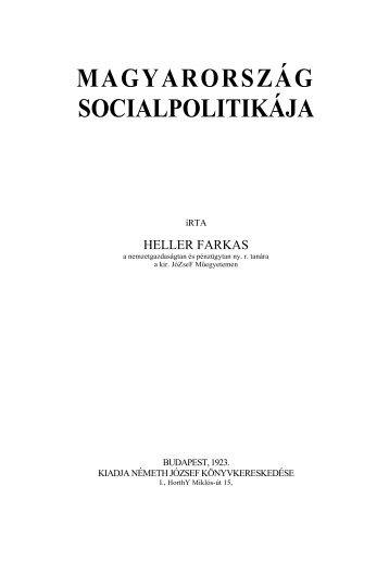 Magyarország szociálpolitikája