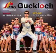 Guckloch 1/2013 - MTG Wangen 1849 e.V.