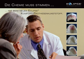 Eclipse Zahnarztbroschüre - DeguDent GmbH