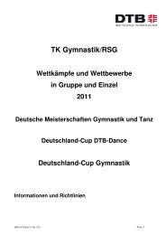 Broschuere 2011 Trainer.Gym-GymTa_DTB-Dance - Gymnastik und ...