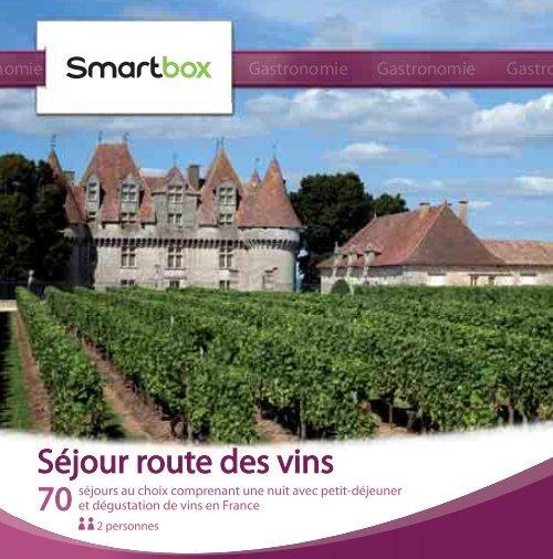 Séjour route des vins - Fnac