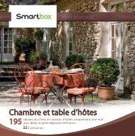 Chambre et table d'hôtes - Fnac