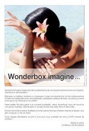 Wonderbox imagine - Boulanger