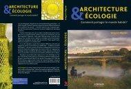 ÉCOLOGIE &ARCHITECTURE Grégoire Bignier - Fnac