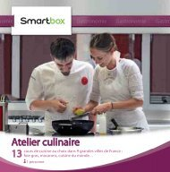 Atelier culinaire - Fnac