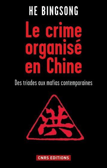 Le crime organisé en Chine - Fnac