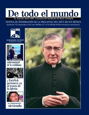 DTM-ESPECIAL canoniza - Opus Dei