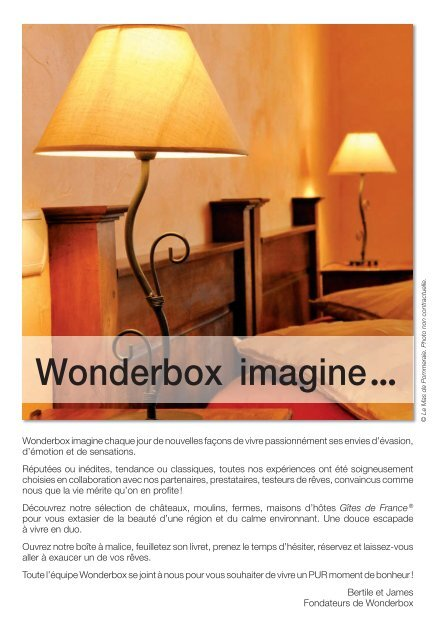 Wonderbox imagine - Fnac