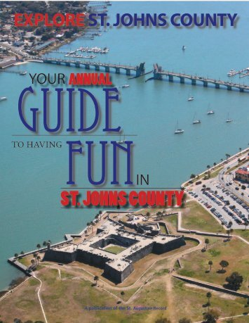 Explore St. Johns County - The St. Augustine Record