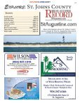 Explore St. Johns County - The St. Augustine Record - Page 5
