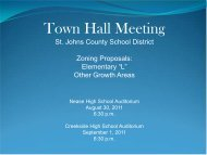 Town Hall Meeting - The St. Augustine Record