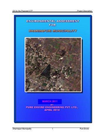 Environmental Impact Assessment - Municipal