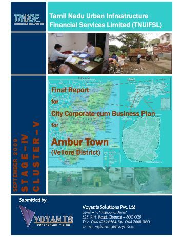 City Corporate & Business Plan - Municipal