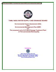Environmental Impact Assessment (EIA) - Municipal - Tamil Nadu ...