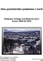 Kapittel 1 - Munin - Universitetet i Tromsø