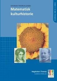 Matematisk kulturhistorie - Munin - Universitetet i Tromsø