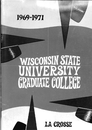 1969-71 - Digitized Resources Murphy Library University of ...