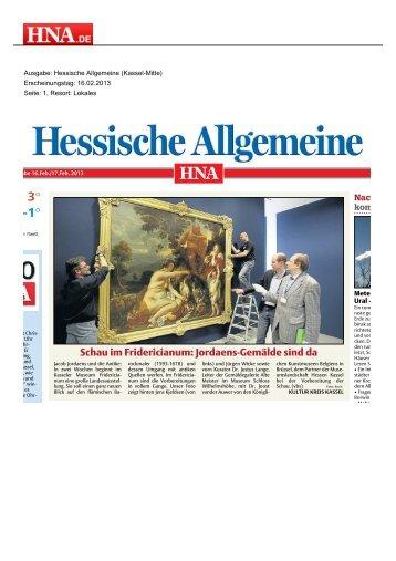 Jordaens-Gemälde sind da - Museumslandschaft Hessen Kassel