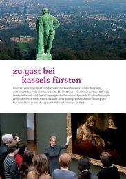 zu gast bei kassels fürsten - Museumslandschaft Hessen Kassel