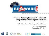 Towards Modeling Dynamic Behavior with Integrated ... - ER 2011