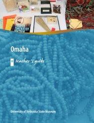 Teacher's Guide - University of Nebraska State Museum - The ...