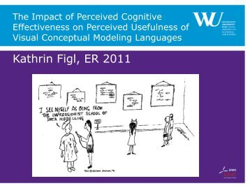 The Impact of Perceived Cognitive Effectiveness on ... - ER 2011
