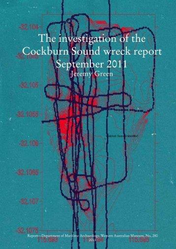 No. 280 The investigation of the Cockburn Sound wreck report ...