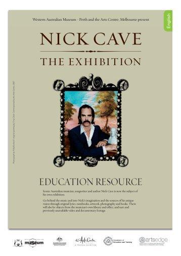 Nick Cave - the exhibition - teacher resource - Western Australian ...