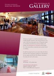 Australia II Gallery - Western Australian Museum