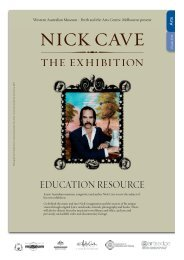 Nick Cave - the exhibition - teacher resource (Visual Arts) - Western ...