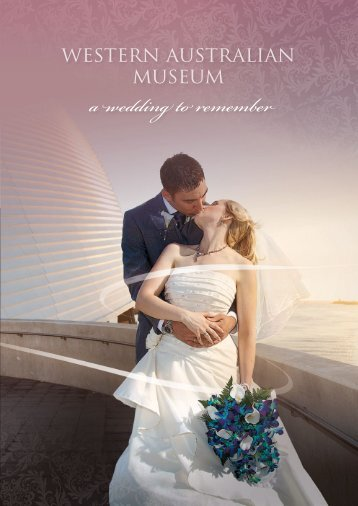 a wedding to remember - Western Australian Museum
