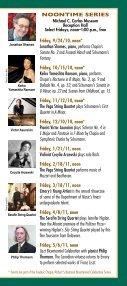 Emory Chamber Music Society of Atlanta - Music at Emory - Page 3