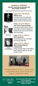 Emory Chamber Music Society of Atlanta - Music at Emory - Page 4