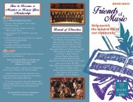Friends of Music - Music at Emory - Emory University