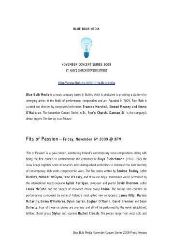 Press Release - Music