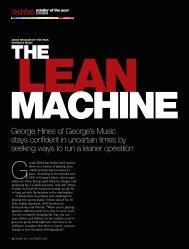 Chain Retailer of the Year - Music Inc. Magazine