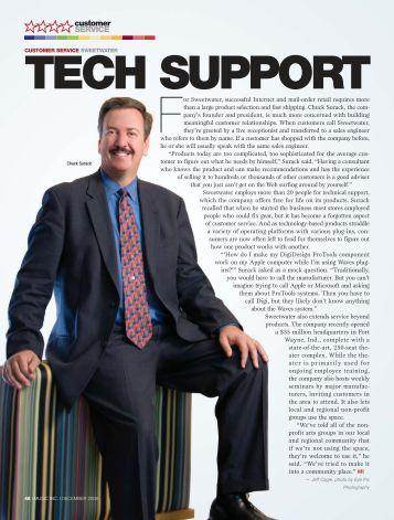 SERVICE customer - Music Inc. Magazine