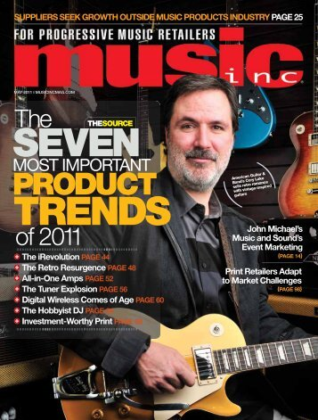 PRODUCT - Music Inc. Magazine
